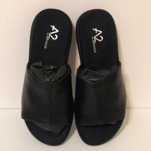 Aerosoles A2 sandals Wiplomacy black comfort 5 1/2